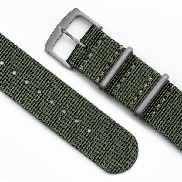 BOLDR Jungle Green Nylon NATO Strap (20mm)