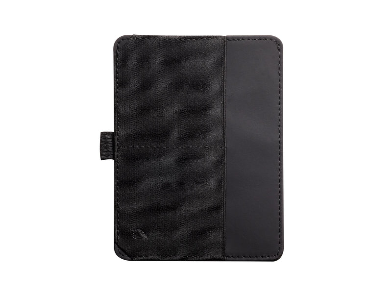 BOLDR Passport Wallet (Black/Brown)