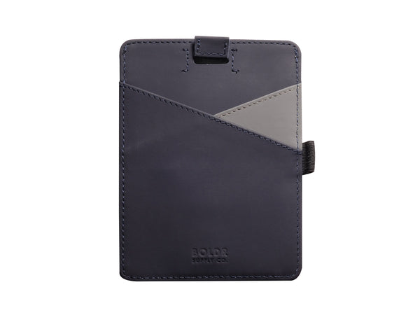BOLDR Passport Wallet (Blue/Grey)