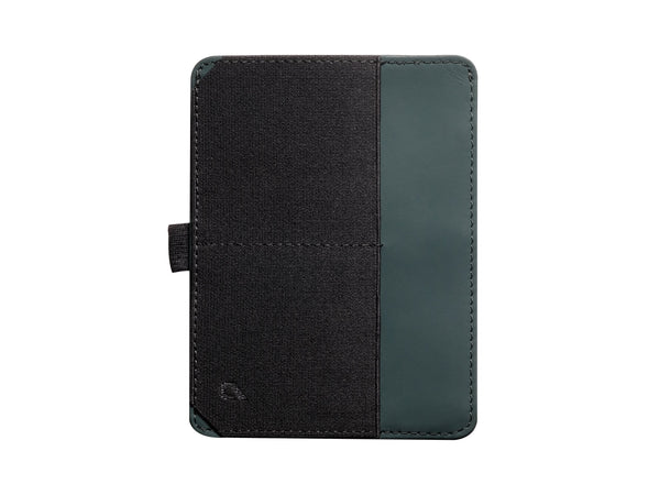 BOLDR Passport Wallet (Green/Grey)