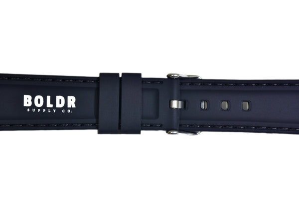 BOLDR Premium Silicone Sports Strap (22mm)