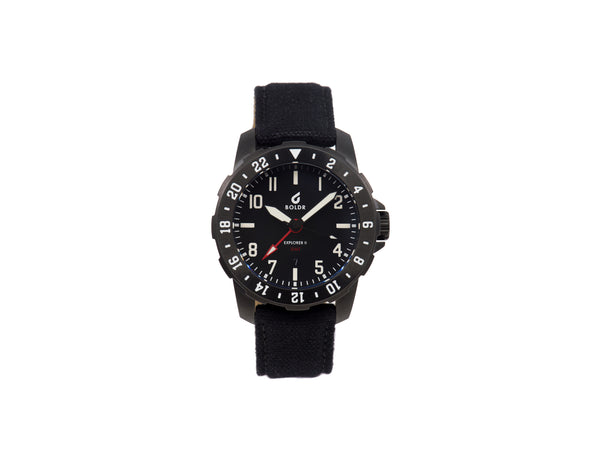 BOLDR Explorer II GMT - Black