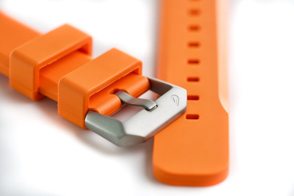 BOLDR EPDM Rubber Strap - Orange