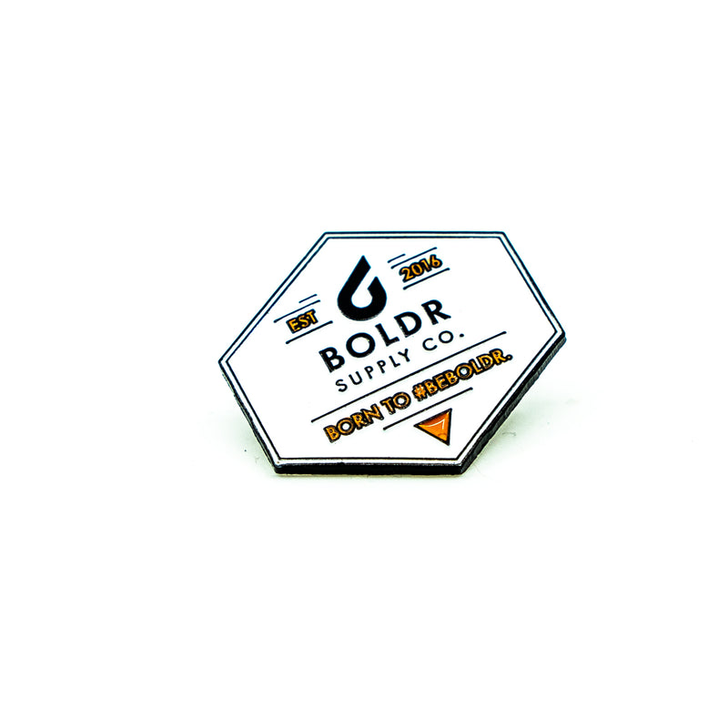 BOLDR Badge White