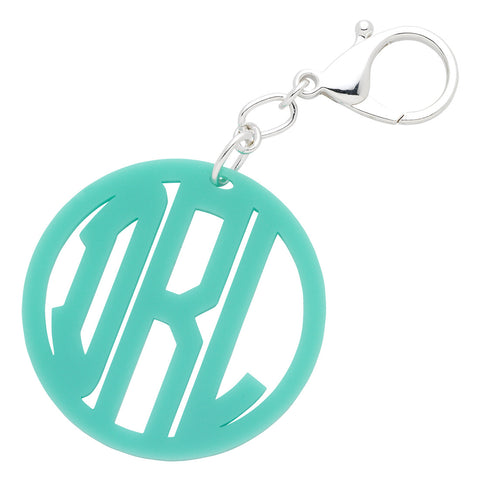Monogram Acrylic Keychain (more colors)