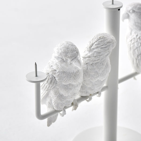 鸚鵡燭檯 / Parrot X Candle Holder_three parrot