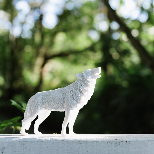 動物紙鎮擺飾_狼 / Animal Paperweight_Wolf