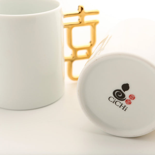 金囍杯 Golden Married Mug