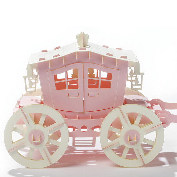 紙模型_Carriage 馬車