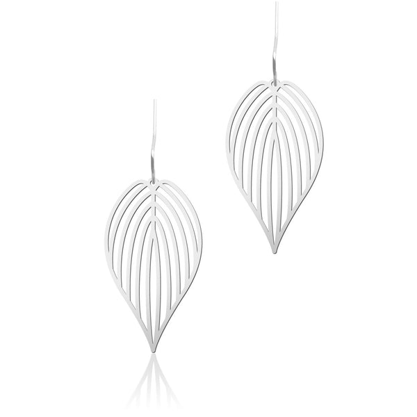 Black Leaf Earrings 黑葉耳環 (E07B)