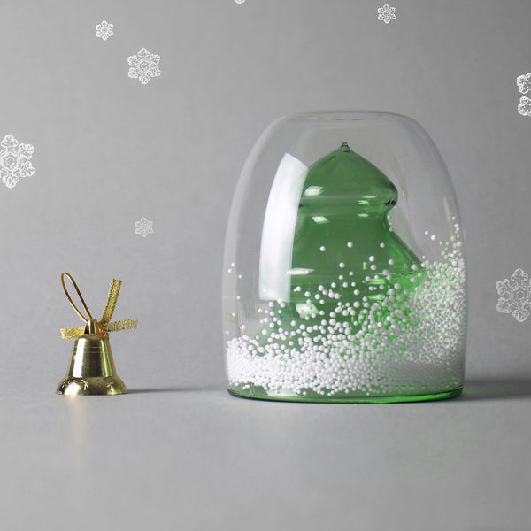 聖誕樹雙層杯_綠 Christmas tree Double Wall Glass