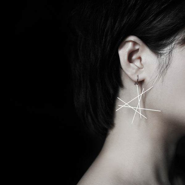 Line Earrings 線耳環 (E14)