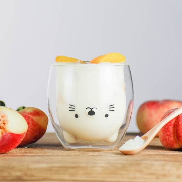 小貓雙層杯 Cat Double Wall Glass