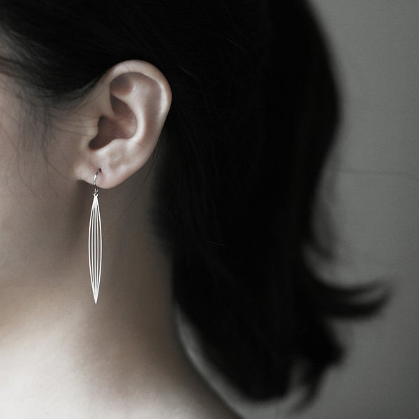 Sasagrass Earrings 淡竹耳環 (E03/E03B)