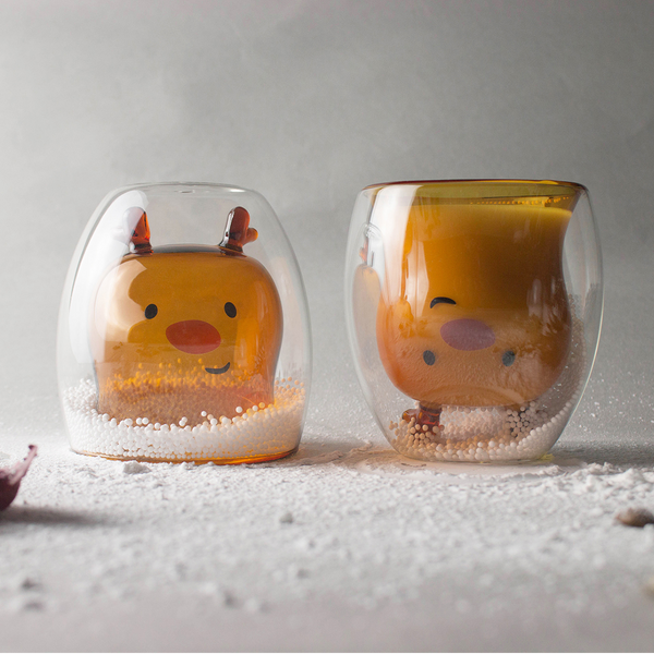 麋鹿雙層杯 Deer Double Wall Glass