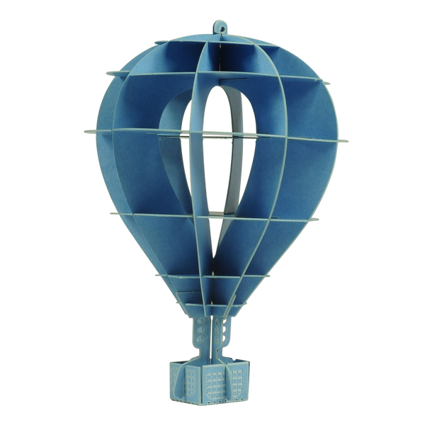 紙模型_Mini hot air balloon 迷你熱氣球