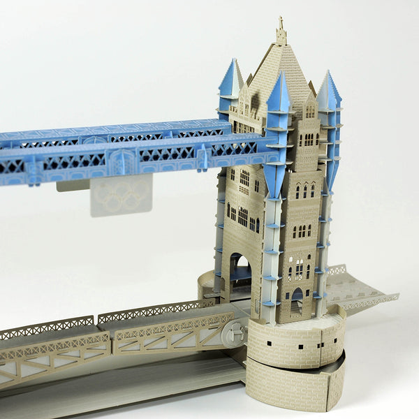 紙地標_Tower bridge 倫敦塔橋