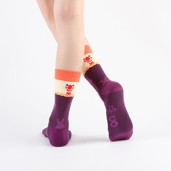 WALKR SOCKS_Crown Circus 小丑馬戲團