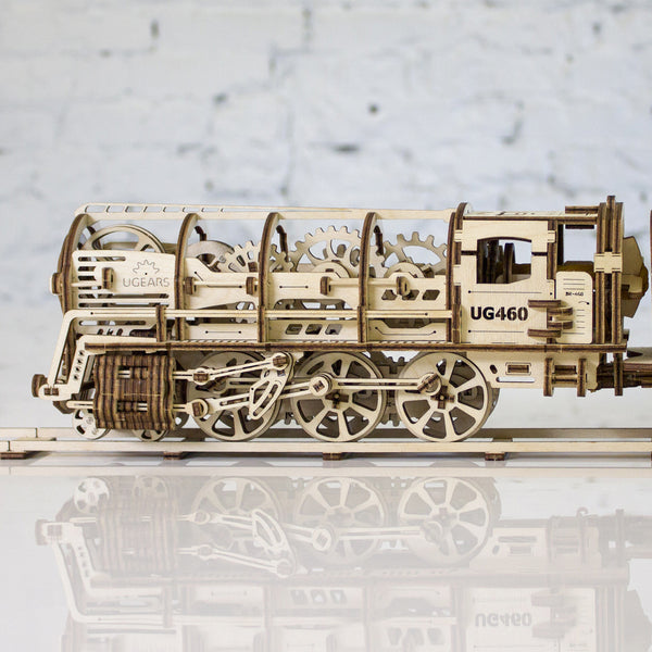 UGEARS_蒸汽火車頭 Locomotive with tender