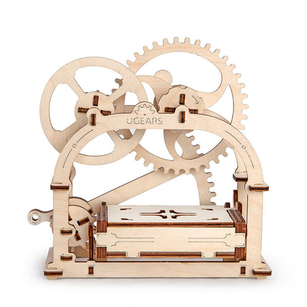 UGEARS_機動名片盒 Mechanical Etui