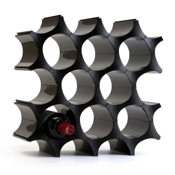 Wine Cell_Wine Rack 酒窩_黑black