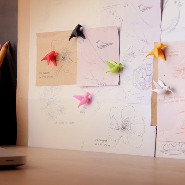 Hummingbird's Message_Magnet(6 pcs./set) 蜂鳥飛訊-磁鐵