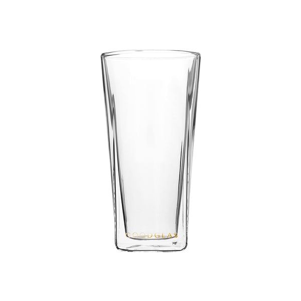SQUARE雙層杯/晶透 SQUARE Double Wall Glass /Clear