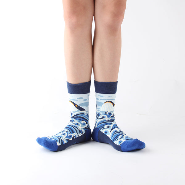 WALKR SOCKS_Great Whale 深海巨鯨