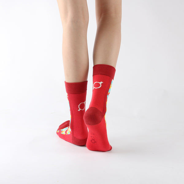 WALKR SOCKS_Bubble Gum 泡泡糖機