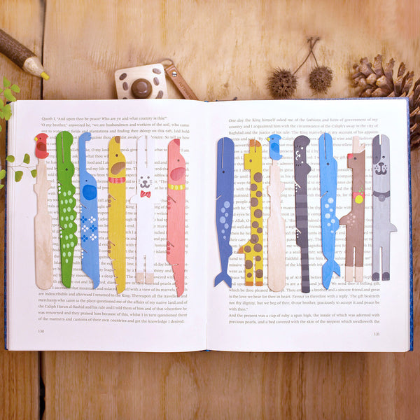 動物冰棒書籤 Ice pop animalbookmarker (大象)