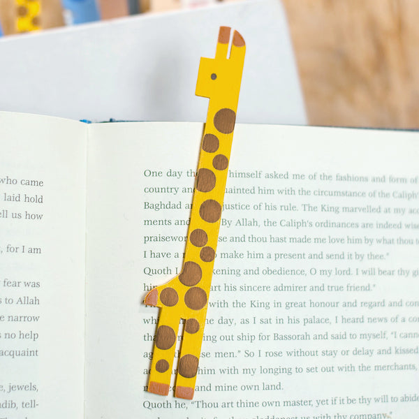 動物冰棒書籤 Ice pop animalbookmarker (長頸鹿)