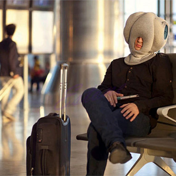Ostrich Pillow_鴕鳥枕 Classic_藍色