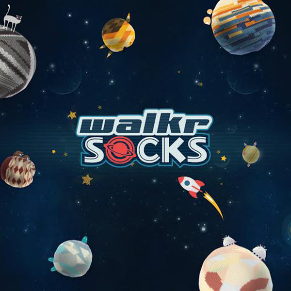 WALKR SOCKS_Cat's Play 喵喵毛球