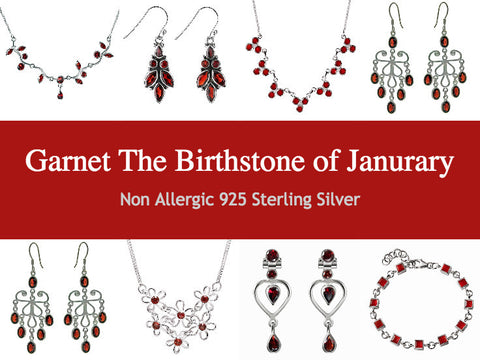 Garrnet - the birthstone for January