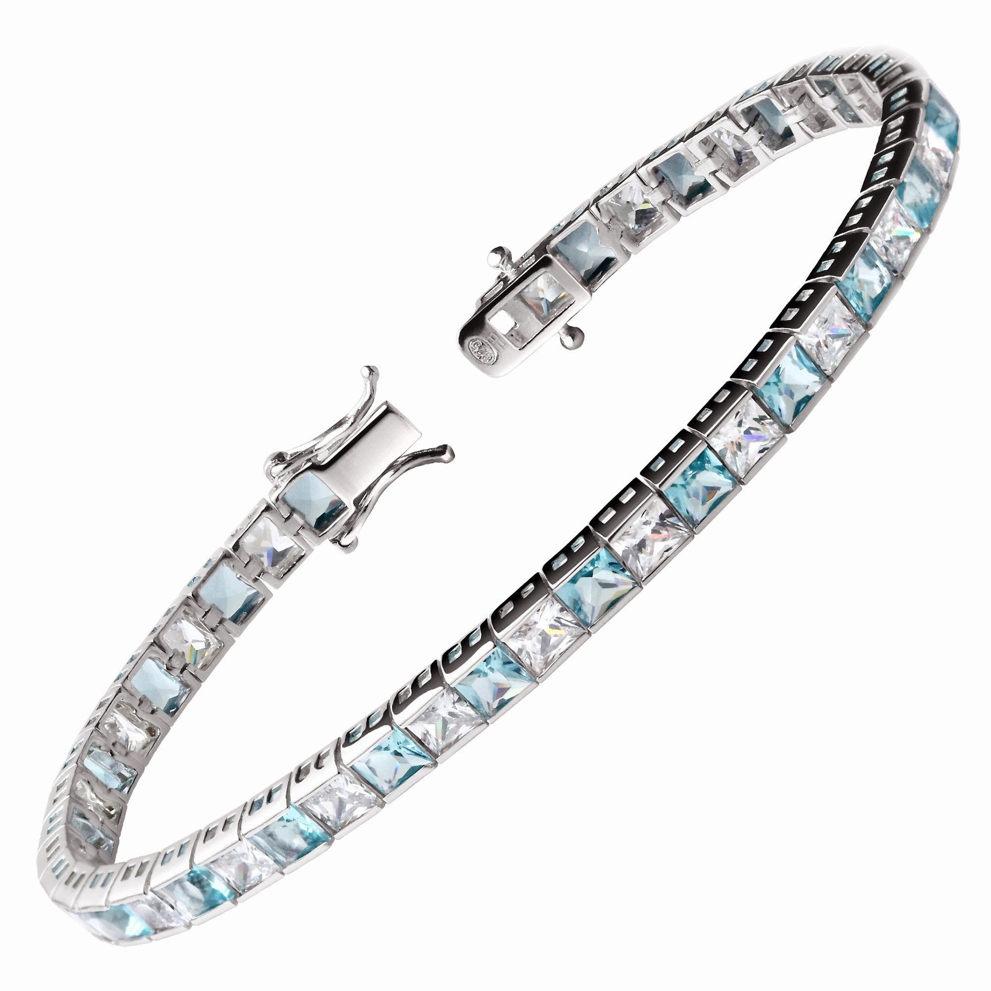 shop rock aquamarine product bracelet rockstar