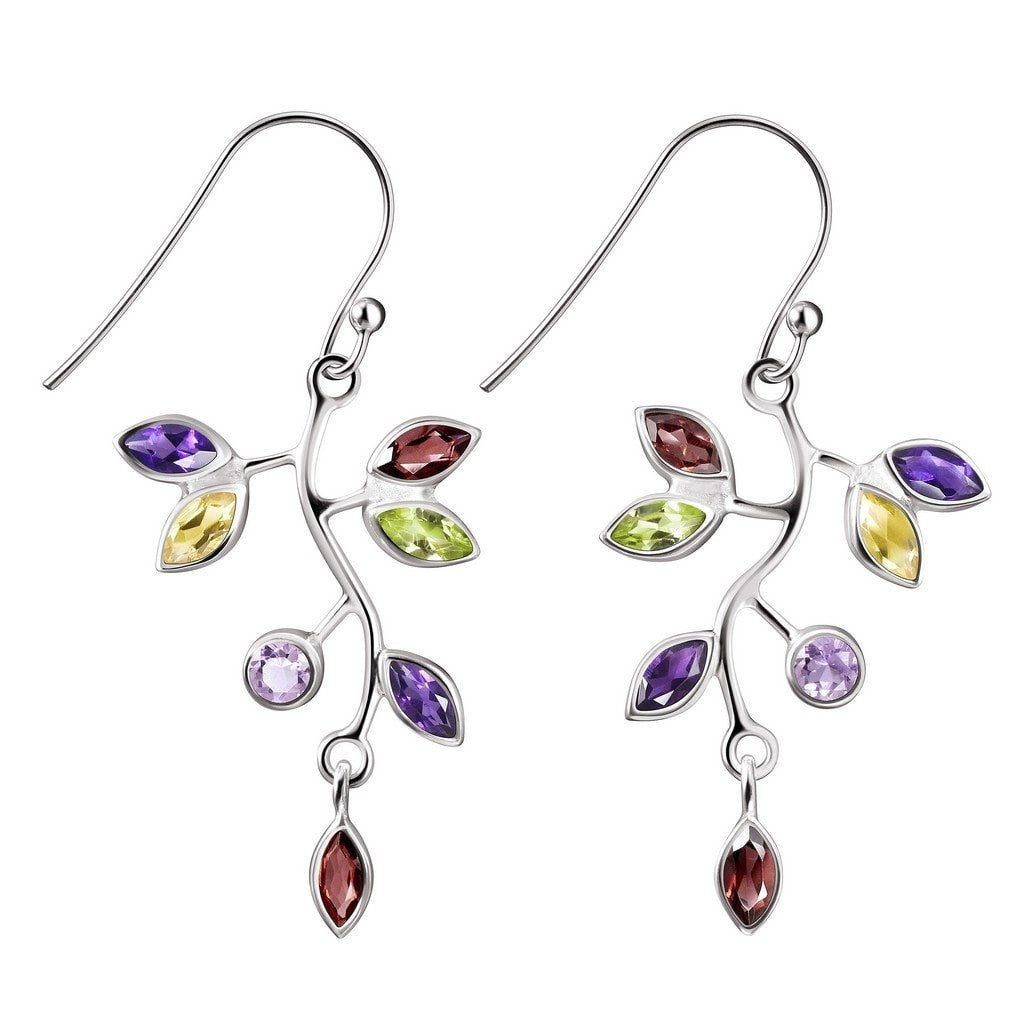 and multi earrings irene neuwirth colourful pin coloured with diamonds gemstones