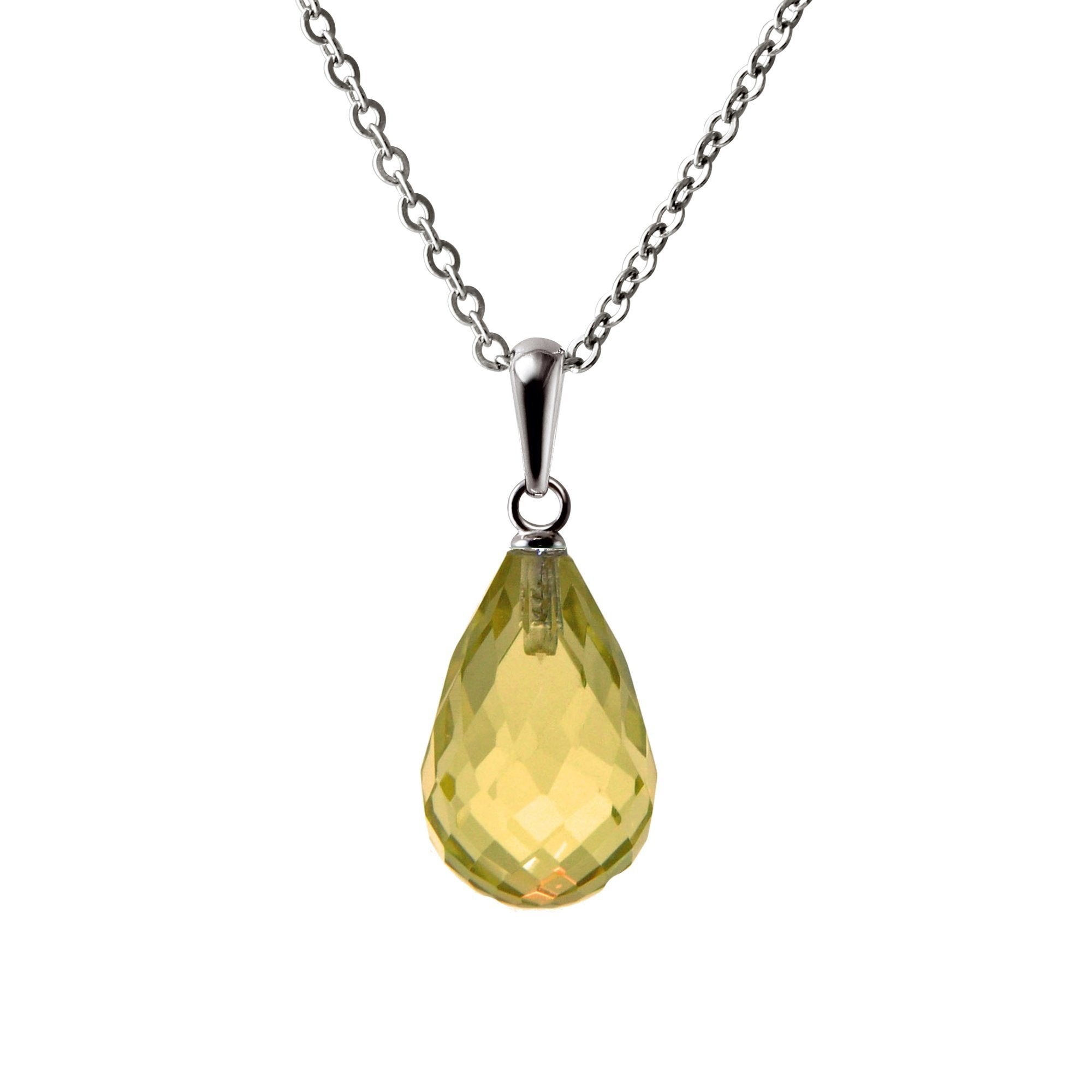 necklaces citrine drop quartz yurman necklace and pendant enlarged triple products chiclet jewelry smoky david