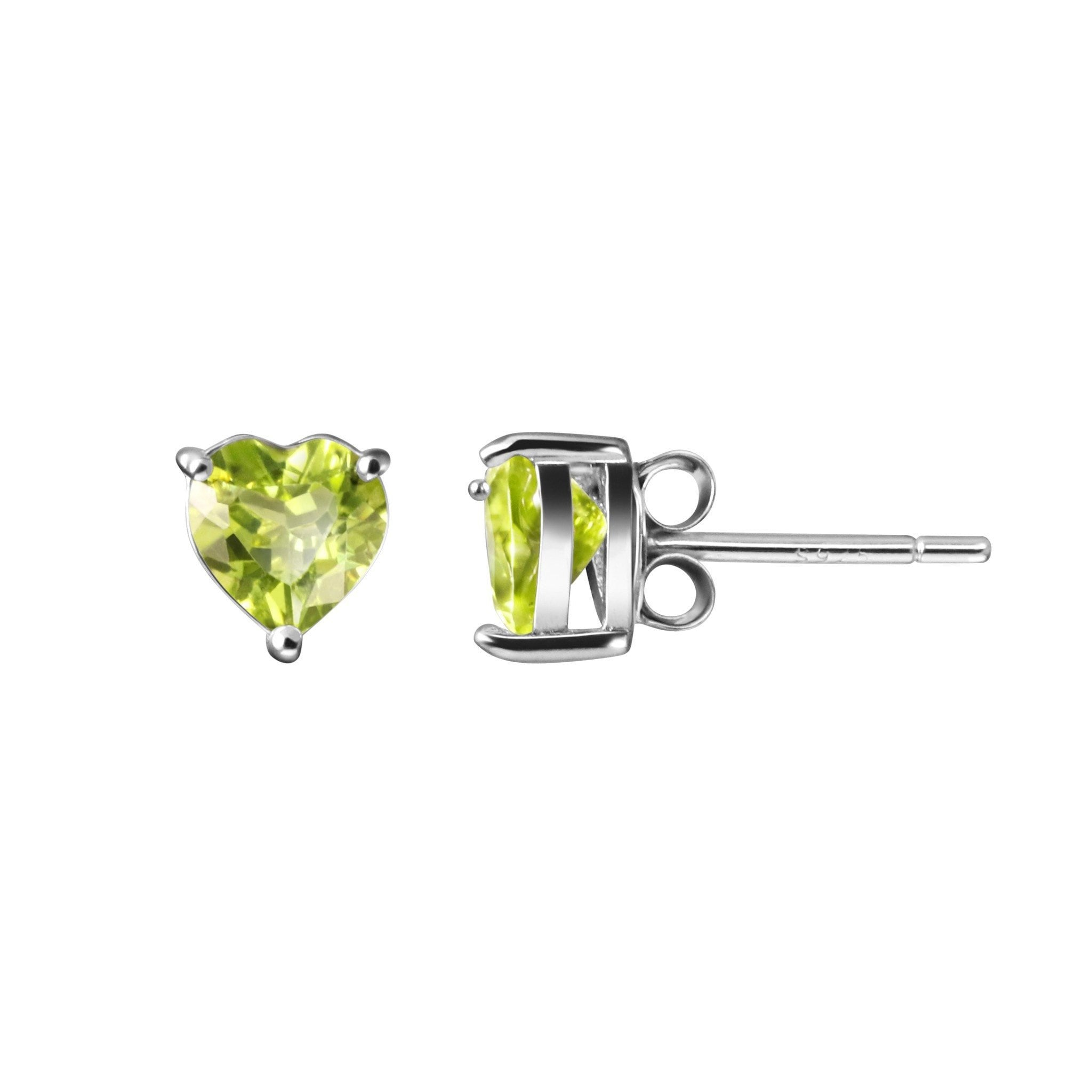 creators progressive peridot collections silver earrings stud vintage luxury products