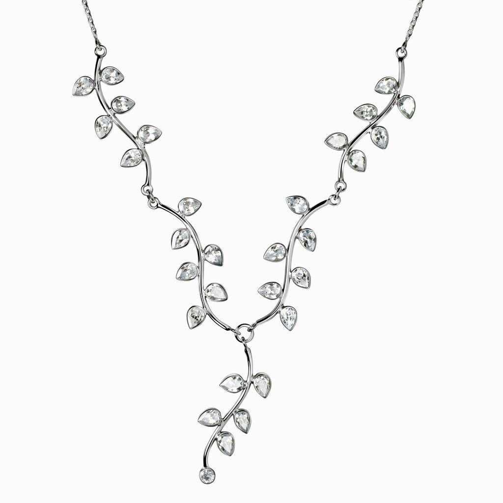 s lafonn diamond simulated necklace