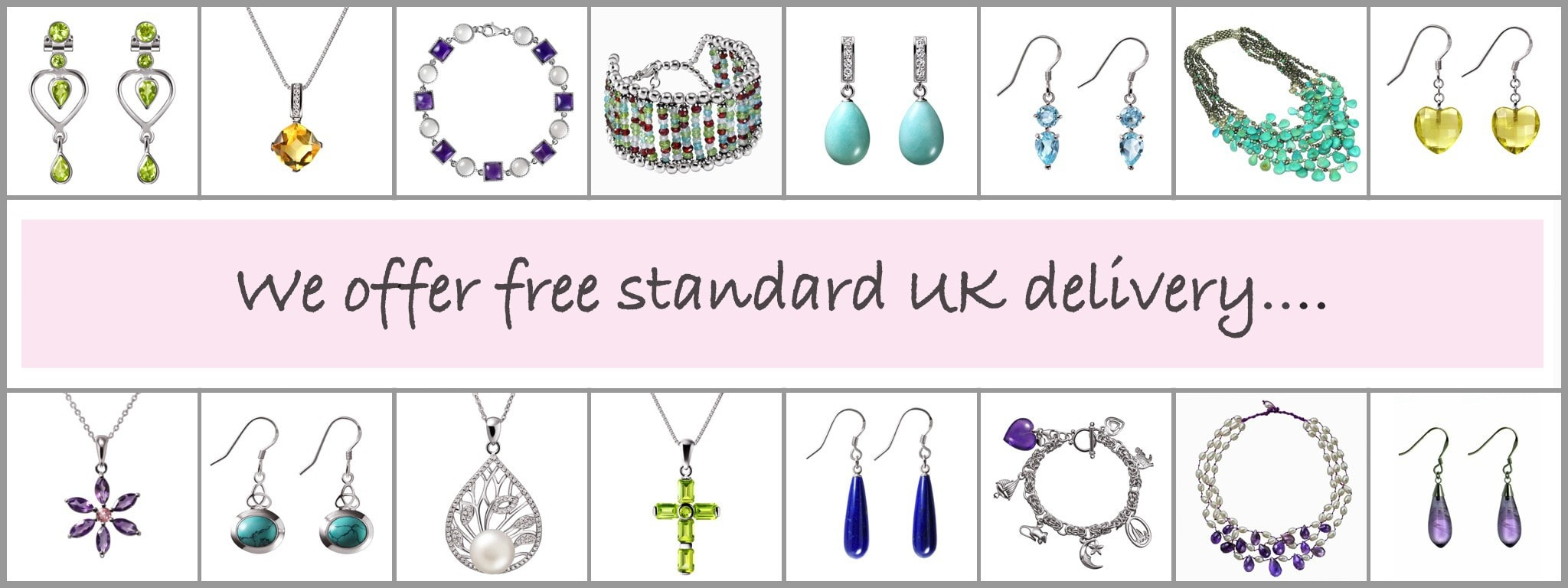 Franki Baker offers free UK delivery