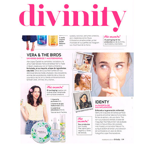 REVISTA DIVINITY VERA AND THE BIRDS