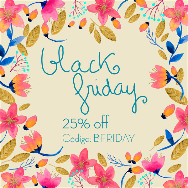 Black Friday - 25% off
