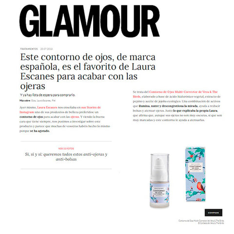 revista glamour-laura escanes-vera and the birds
