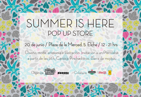 Pop up Store Summer is Here
