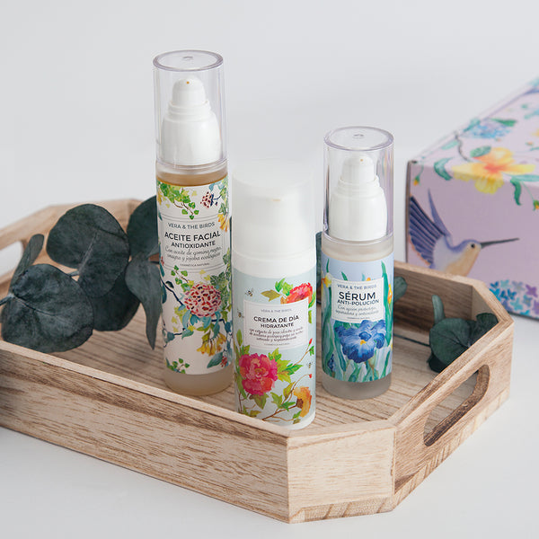 pack ritual de belleza vera and the birds
