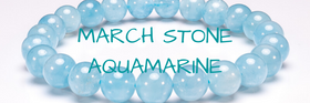 MARCH STONE - AQUAMARINE