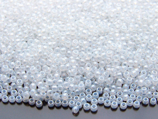 10g 141 Ceylon Snowflake Toho Seed Beads 11/0 2.2mm-TOHO Glass Beads-Michael's UK Jewellery