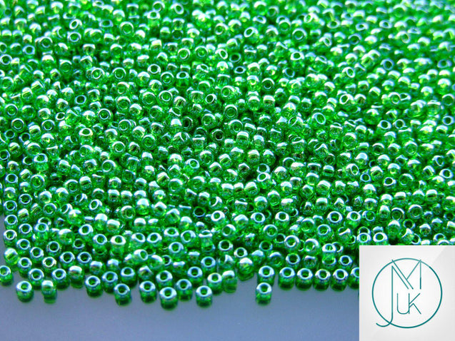 250g 108 Transparent Peridot Luster Toho Seed Beads 11/0 2.2mm WHOLESALE-Michael's UK Jewellery