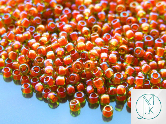 250g 303 Inside Color Jonquil/Hyacinth Lined Toho Seed Beads 6/0 4mm WHOLESALE-Michael's UK Jewellery