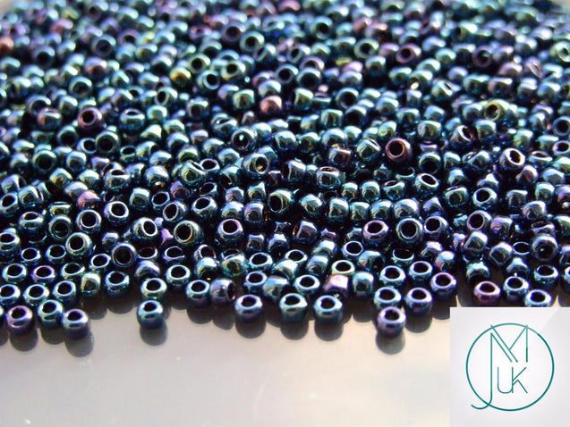 10g 88 Metallic Cosmos Toho Seed Beads 8/0 3mm-TOHO Glass Beads-Michael's UK Jewellery